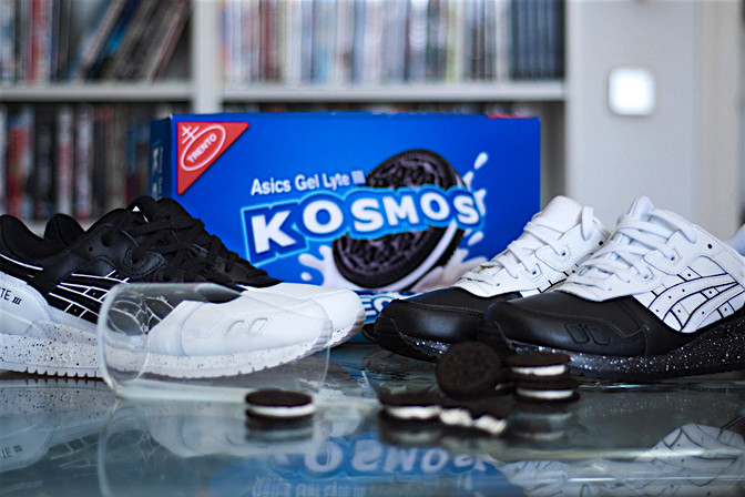 reputable site 3197c 1a95d The Sneakers Box - ASICS GEL LYTE III - KOSMOS OREO PACK