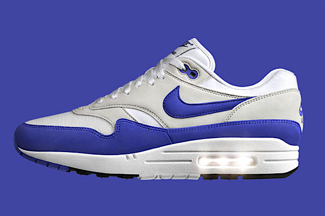 0e0016b3da72 Nike Air Max 1 Anniversary OG Blue - It s the Air Max that started it all.  Originally released in 1987