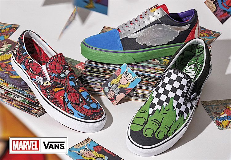 00c3469435 The Sneakers Box - VANS x MARVEL  THE AVENGERS COLLECTION