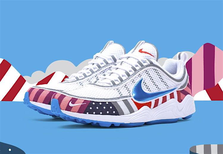 The Sneakers Box PARRA x NIKE: AIR MAX 1 & AIR ZOOM SPIRIDON