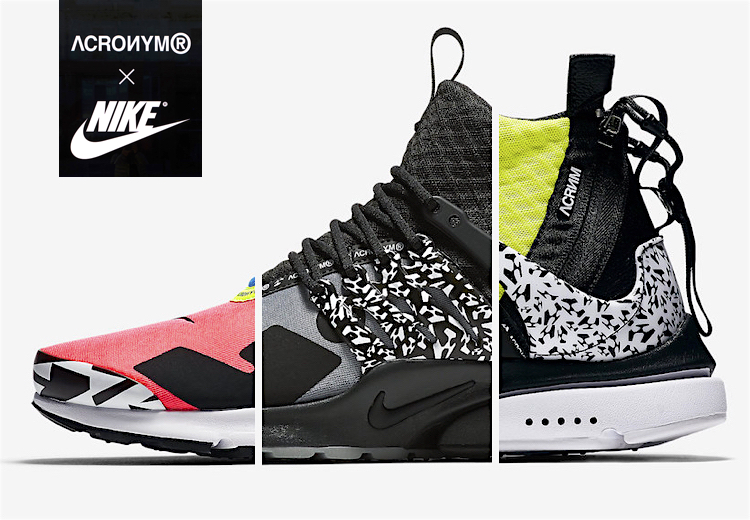 new style bf7c7 36502 The Sneakers Box - NIKE x ACRONYM: AIR PRESTO MID PACK 2018