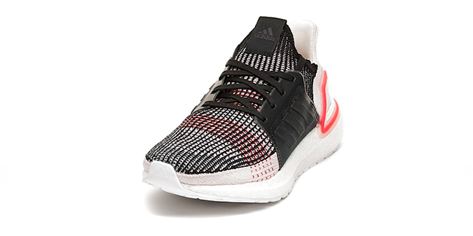 a4ba1c5b3feab Brand Adidas  Model ULTRA BOOST 19  Color CORE BLACK   ORACLE TINT   ACTIVE  RED  Code F35238