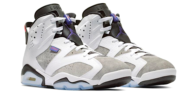 63fc25fe209 Brand Nike Jordan; Model AIR JORDAN 6 RETRO LTR - FLINT; Color WHITE / DARK  CONCORD / BLACK / INFRARED 23 ...