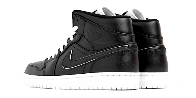 adb965a30b7 Brand Nike Jordan; Model AIR JORDAN 1 MID SE - MAYBE I DESTROYED THE GAME;  Color BLACK ...